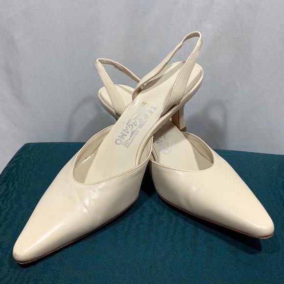 Salvatore Ferragamo Shoes - Salvatore Ferragamo Slingback Heels